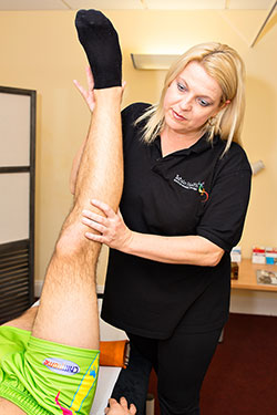 Amanda Burger sports massage